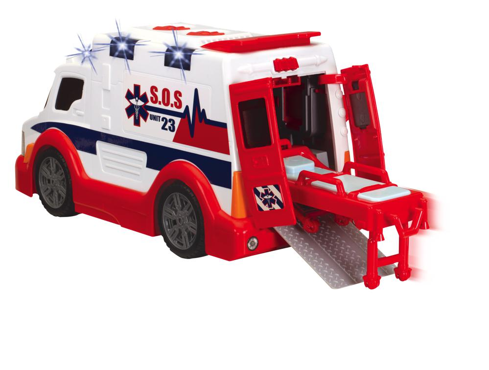 Action series - Ambulance Sons et lumières 33 cm