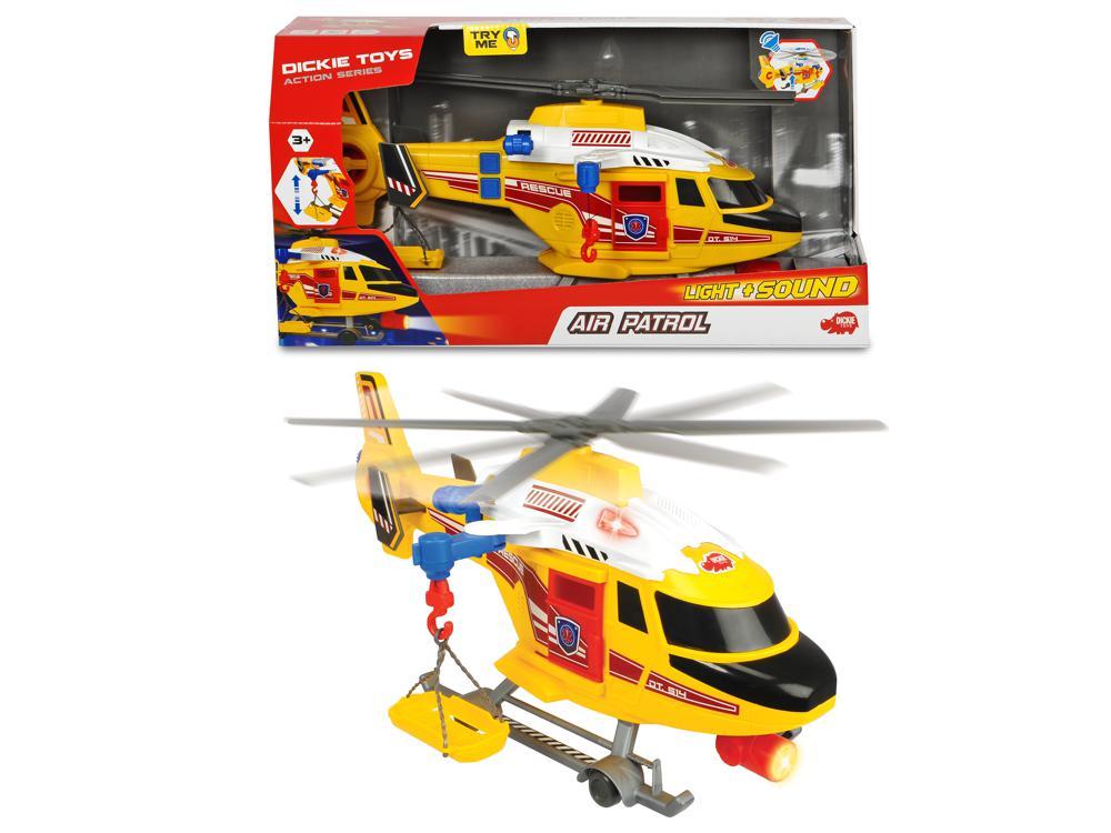 Action Series - Hélicoptère Sons et lumières 41 cm