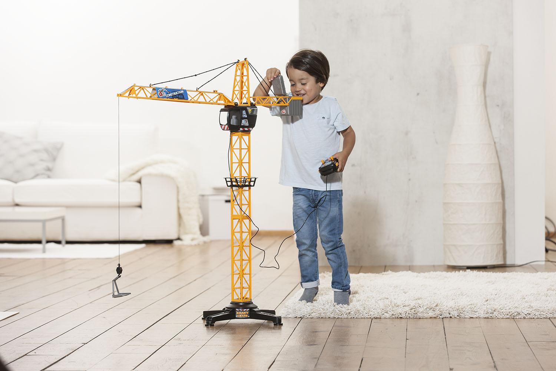 Dickie - Grue géante téléguidée avec fil 100 cm