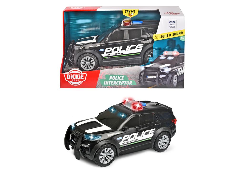 Action Series - Camion de police Ford Interceptor Sons et lumières 25 cm 1:18