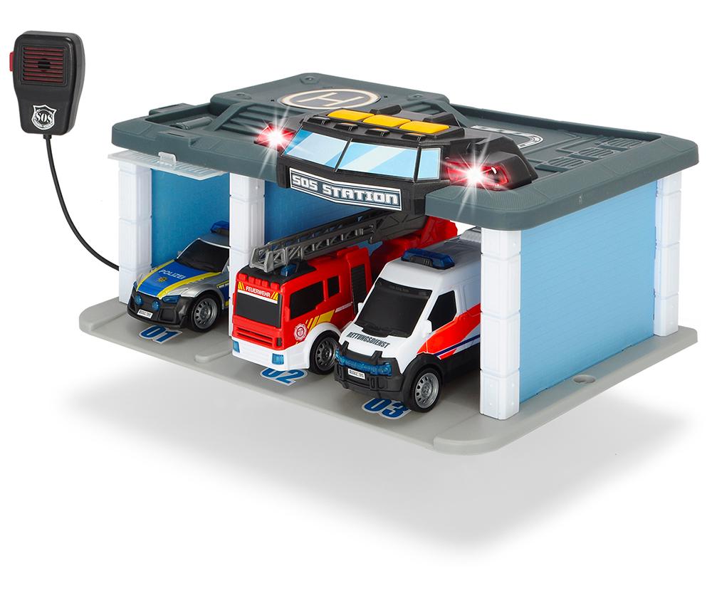 Dickie - SOS Centre de sauvetage Sons et lumières 16 cm