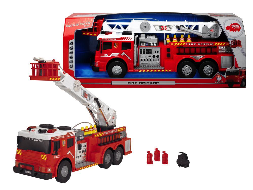 Dickie SOS - Camion de pompier 62 cm
