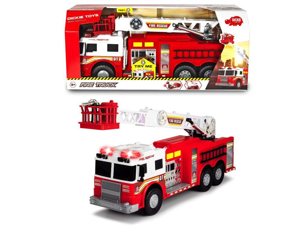 Dickie - SOS Camion de pompier Sons et lumières 57 cm