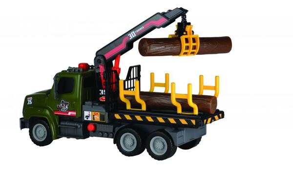 Dickie Air Pump Camion forestier 32 cm