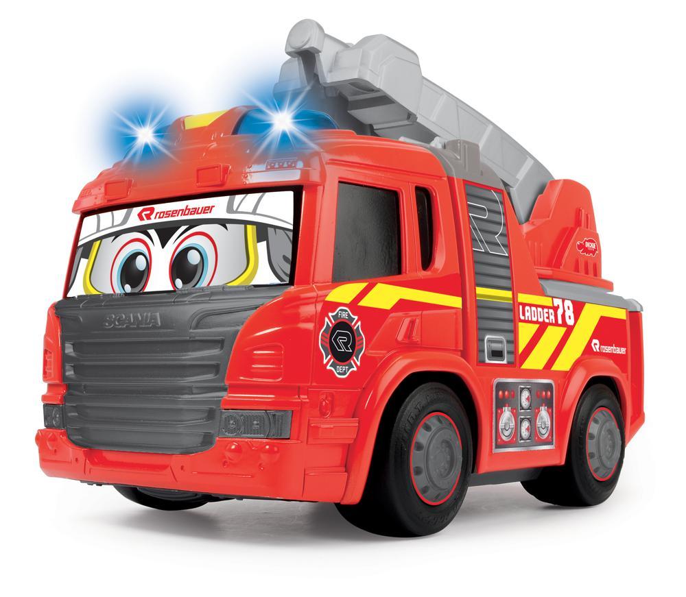 Dickie - Happy Camion de pompier Sons et lumières 25 cm