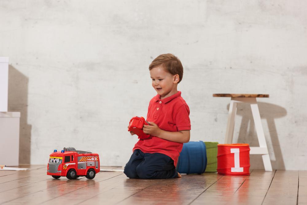Dickie Happy Camion de pompier téléguidé 27 cm