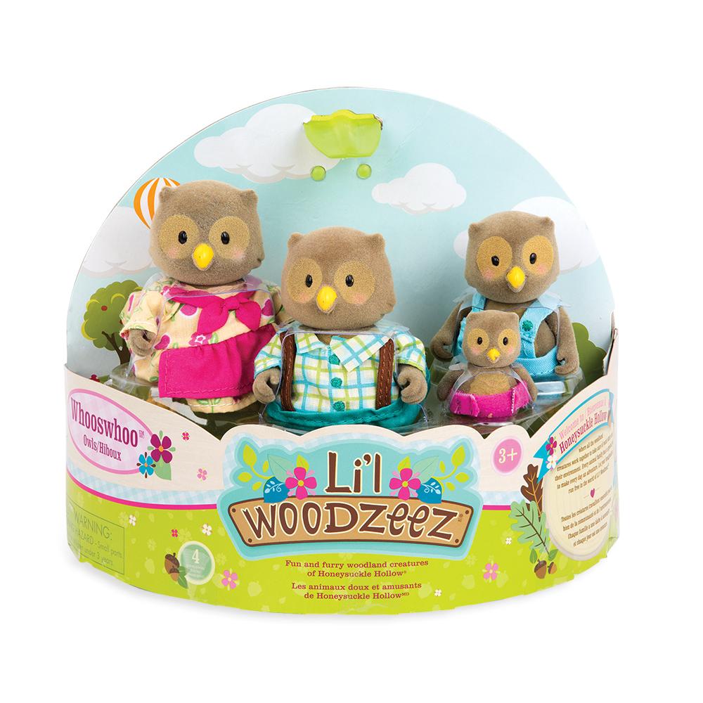 Li'l Woodzeez - Famille de hiboux Whooswhoo