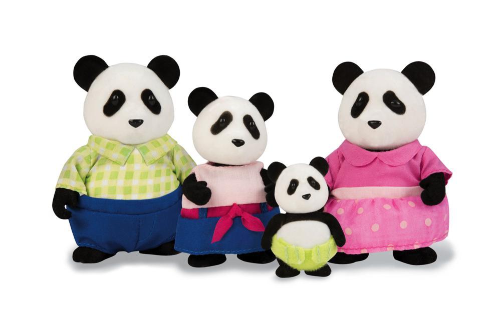 Li'l Woodzeez - Famille de pandas Skyhoper