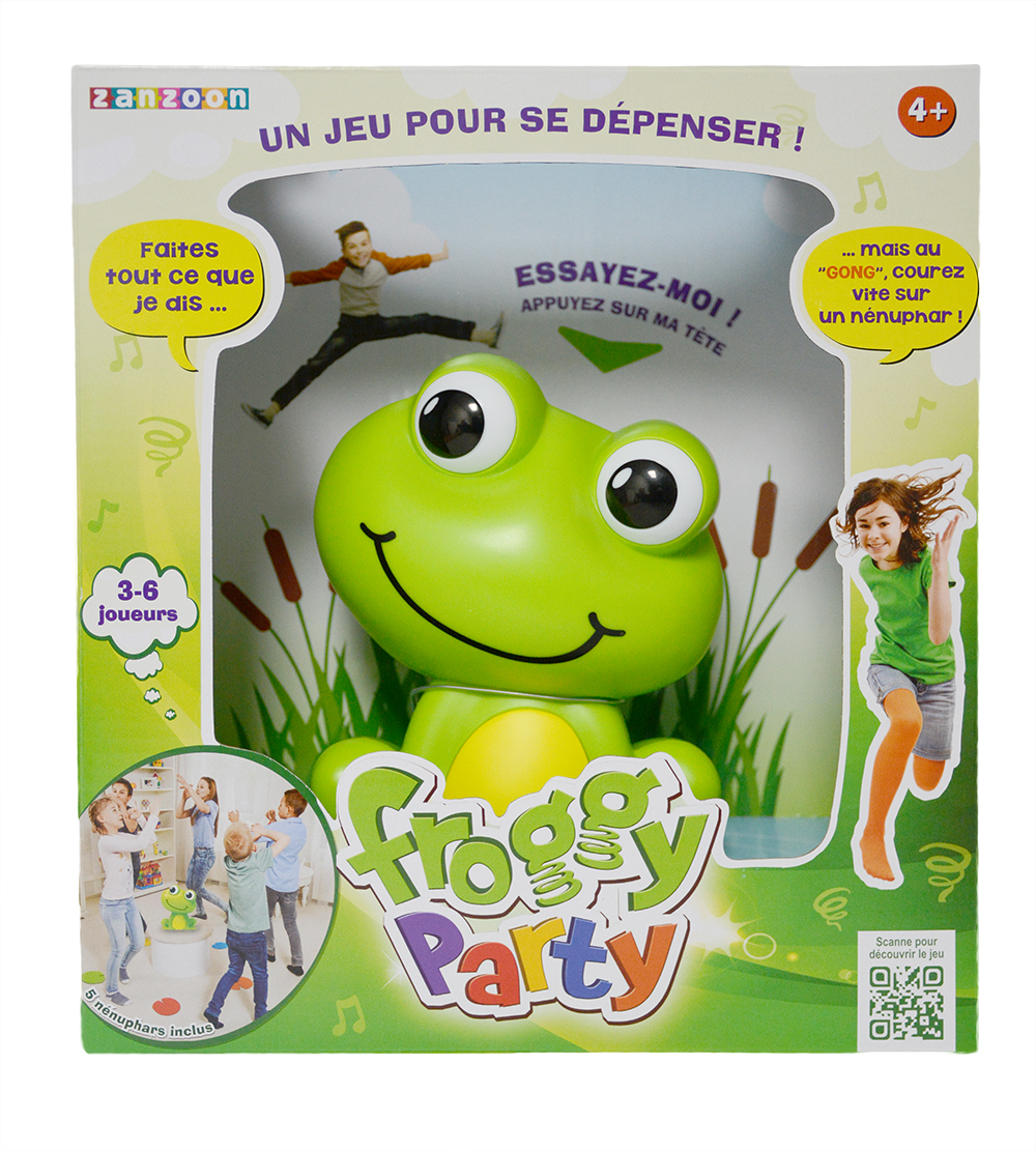Jeu Froggy Party-Le Jeu