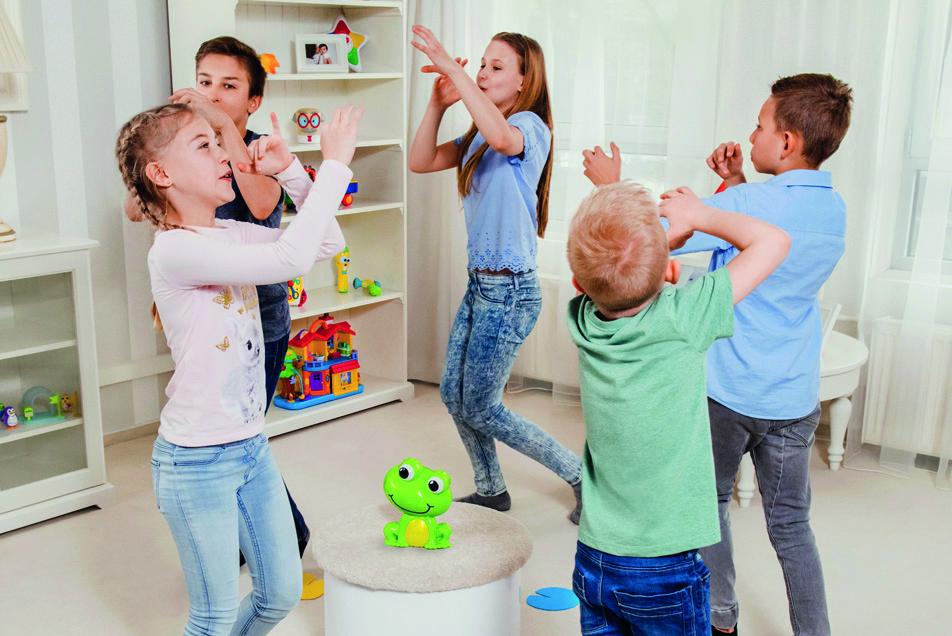 Jeu Froggy Party Version française